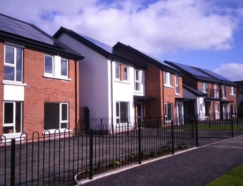Temple Park Castlerock Social Housing